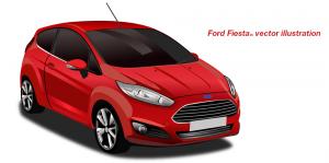 High detail car vector illustration