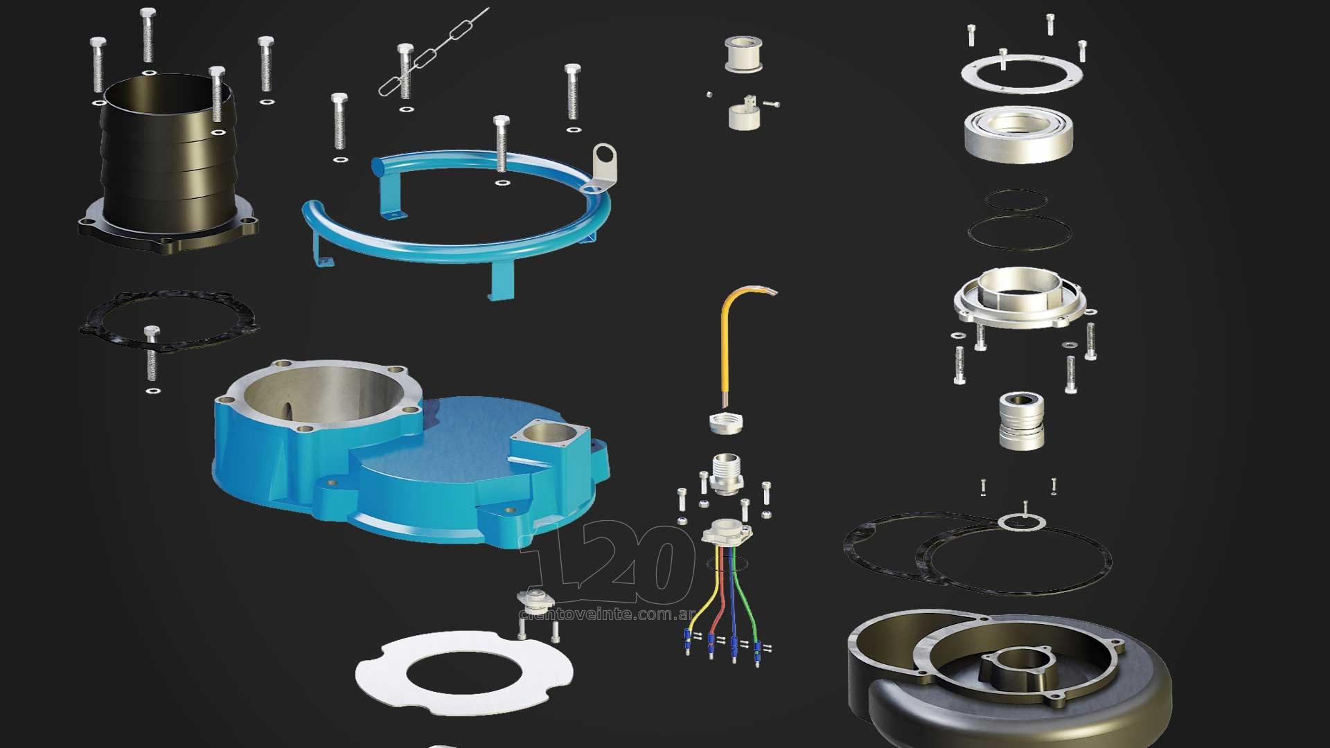 audex submersible pumps blow apart diagrams cientoveinte