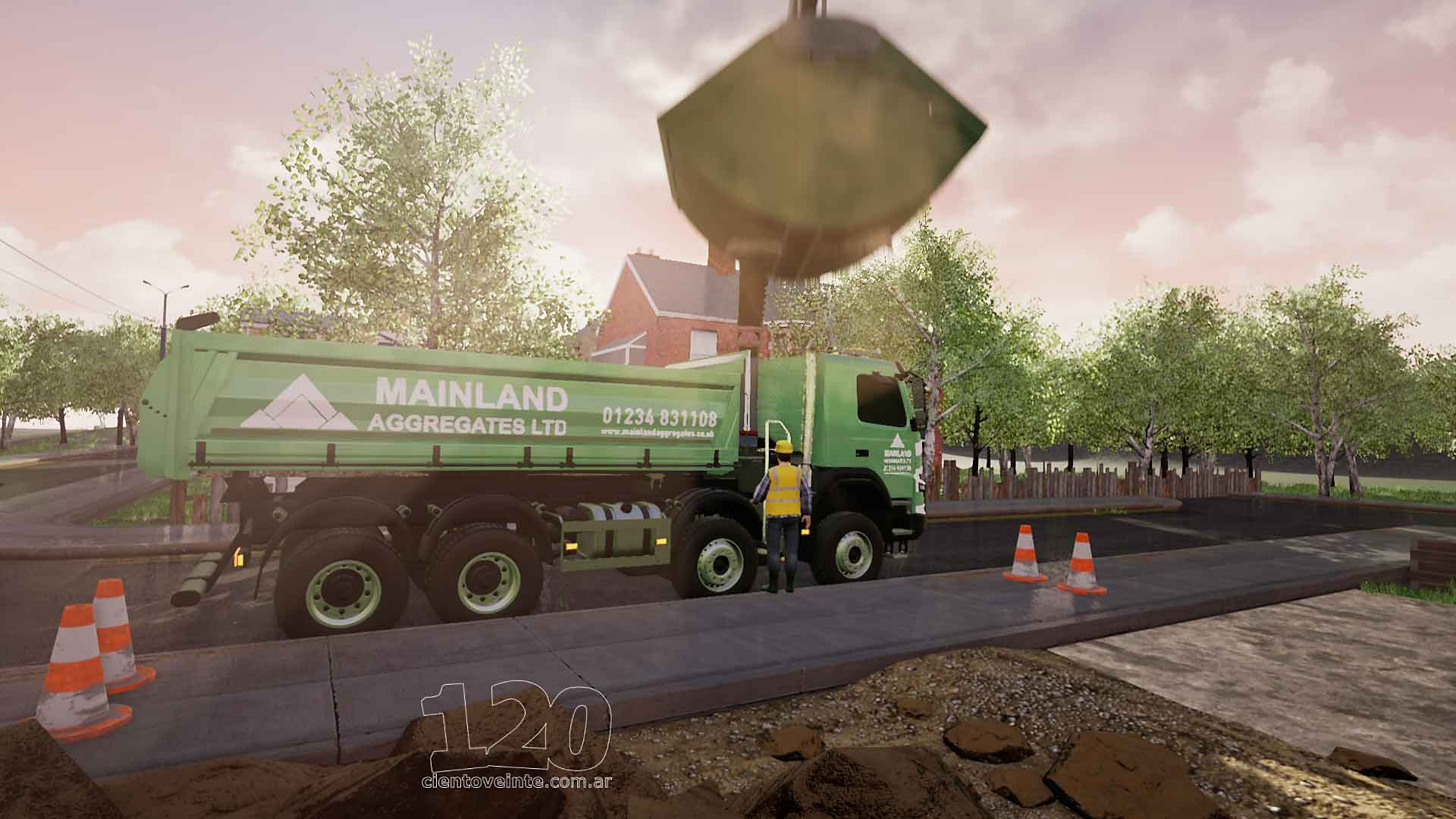 Grab truck from the MA video infographics - cientoveinte
